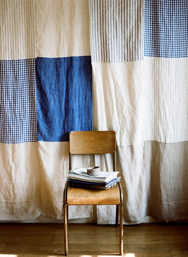 Сшить шторы в стиле пэчворк 98