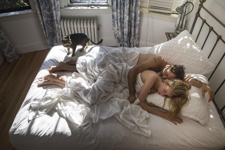 Американцы в своих спальнях: серия интимных фотографий Барбары Пикок