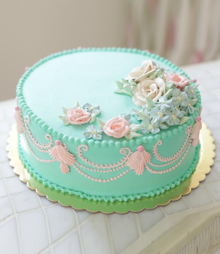Смотреть торты кремовое оформления бесплатно фото