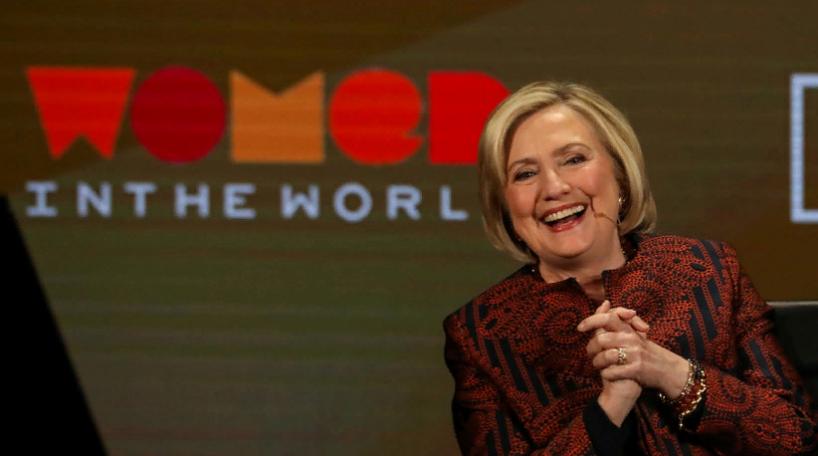 Трамп считает, что Клинтон должна вступить в президентскую гонку
