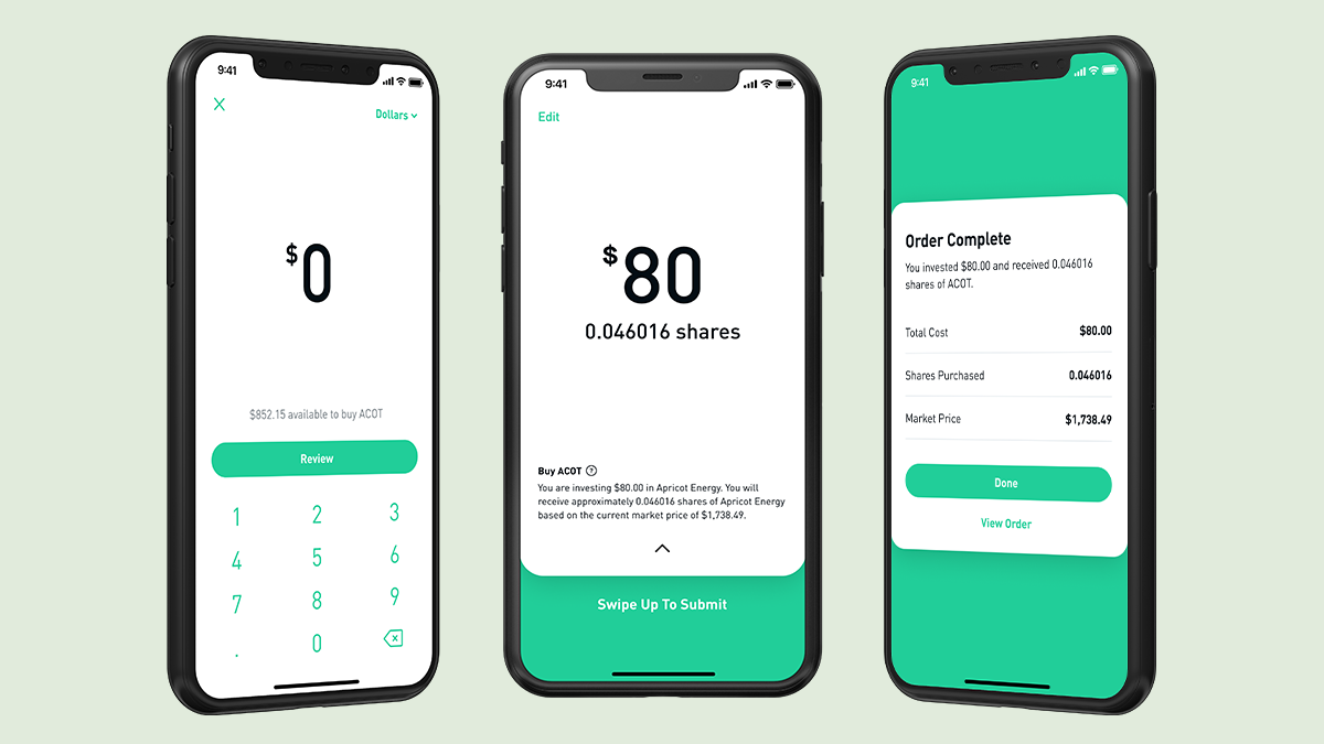 Robinhood lets you invest as little as 1 cent in any stock