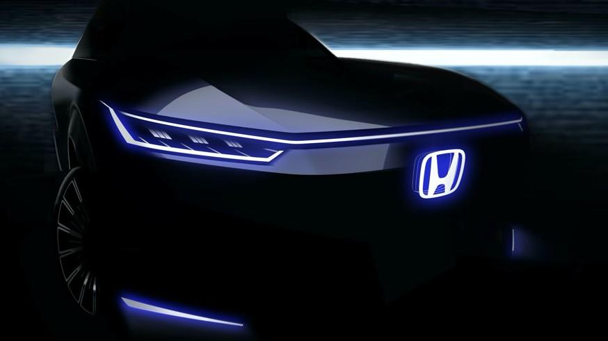 Honda готовит очередную «зелёную» новинку: это кроссовер (на этот раз дизайн не в стиле ретро) Honda, бренда, компания, предвестника, который, электрокара, Пекине, будет, представлен, стенде, весной, рамках, модель, автосалона, составляет, осенью, автомобиля, примерно, модели, 2020го