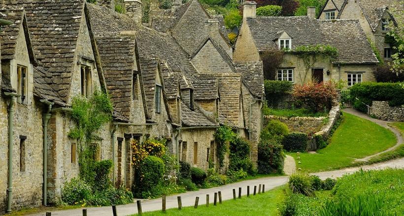 Байбери — самая прелестная деревня Англии, которую здесь даже изображают на паспортах
