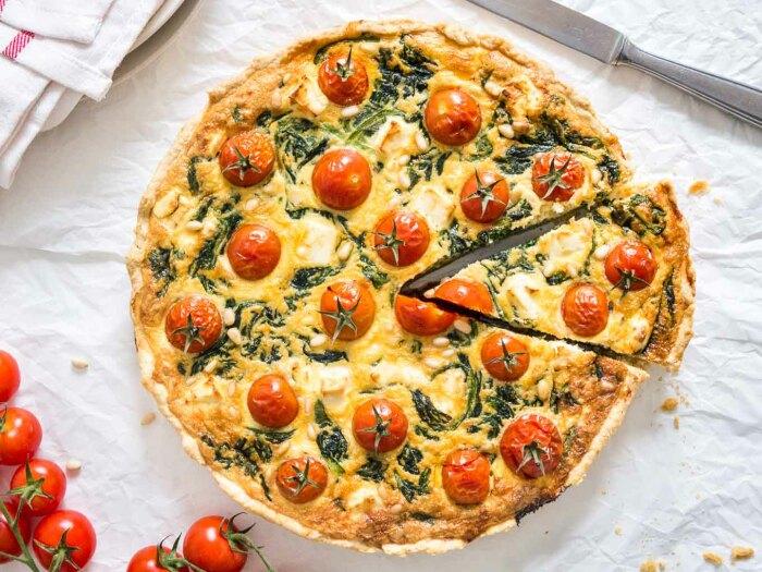 Вкуснейший домашний пирог.  Фото: vegangerechten.be.