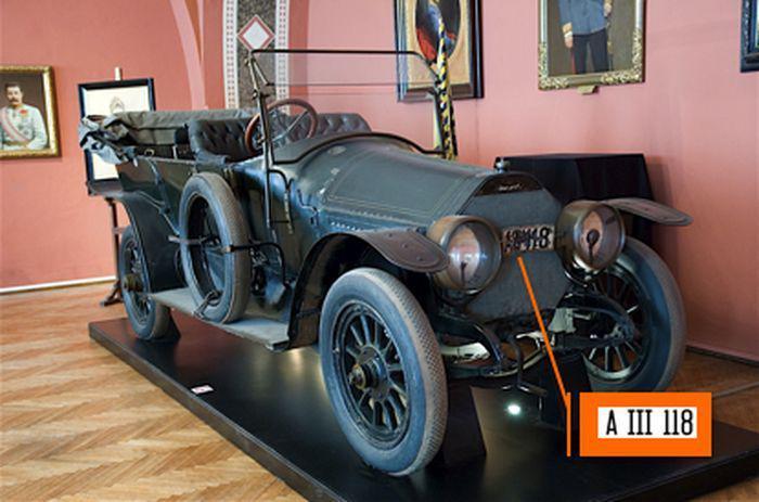 Автомобиль эрцгерцога Франца Фердинанда в музее Вены. | Фото: smi22.ru.