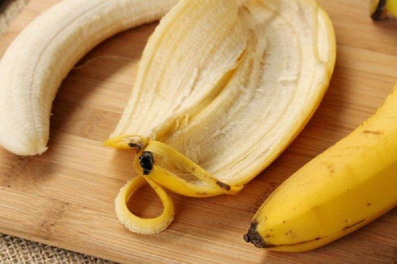 В банане полезно всё!
