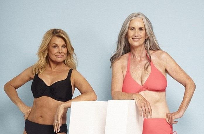 Фотопроект, который доказывает, бикини прекрасно подходит женщинам любого возраста и любой фигуры!