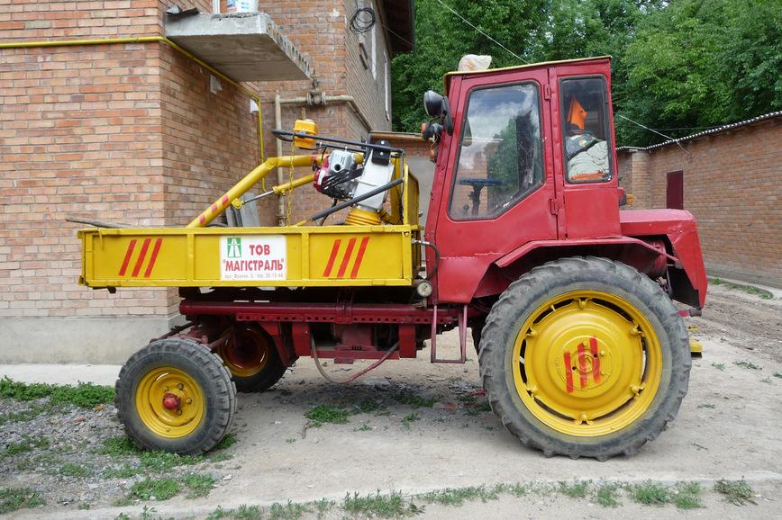 Трактор т-16 самосвал