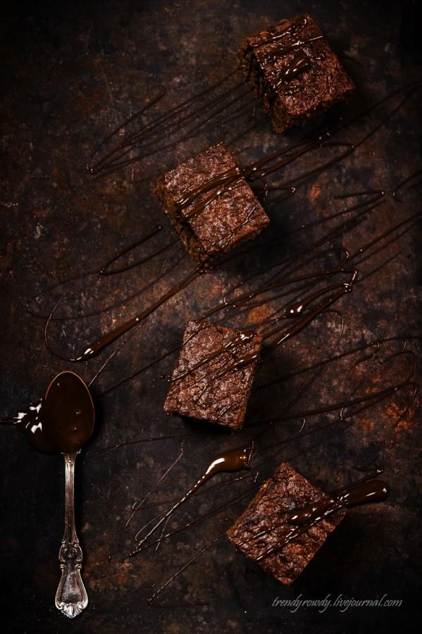 Кабачковый шоколадный пирог