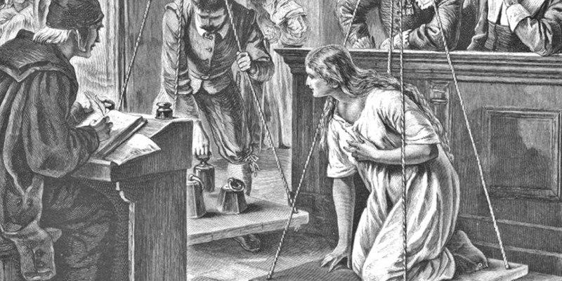 Как охотились на ведьм в Средневековье