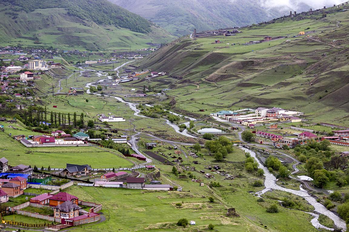 Северный Кавказ: Фиагдонское ущелье