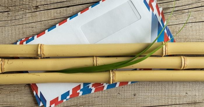 Как использовать бамбуковые палочки в интерьере