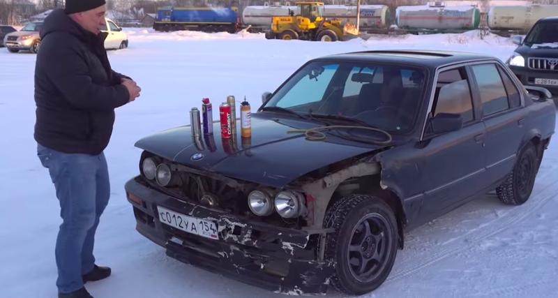 На чем ПОЕДЕТ BMW - ЛАК для ВОЛОС или ДИХЛОФОС?