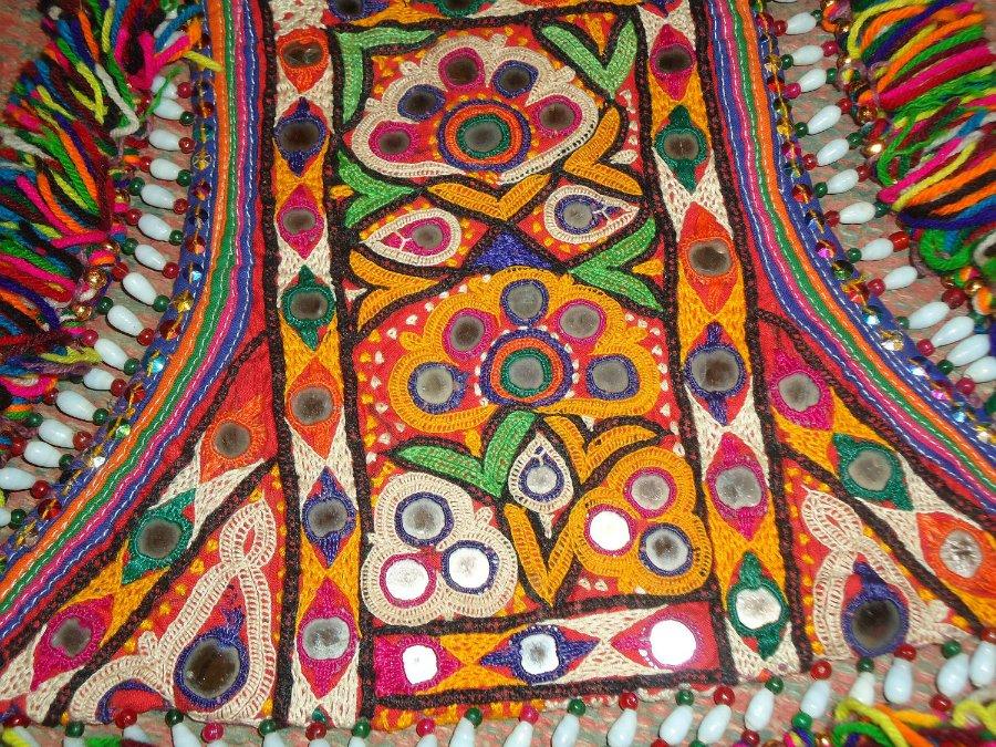 Индийская вышивка — шиша
