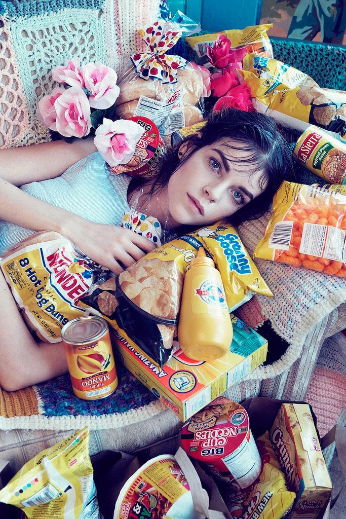 Меган Коллисон — Фотосессия для «Numero» CH 2014