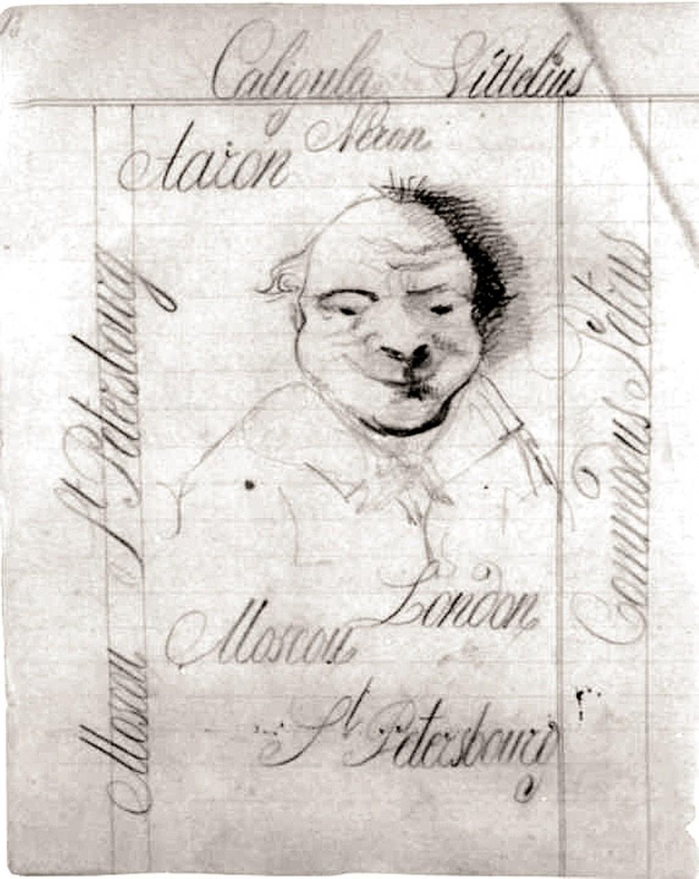 Фигуры на полях. Рисунки Достоевского к его рукописям