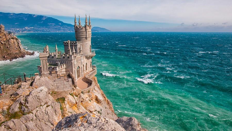 Размышления о Крыме с укросайта. Мягко сказать - удивлена.