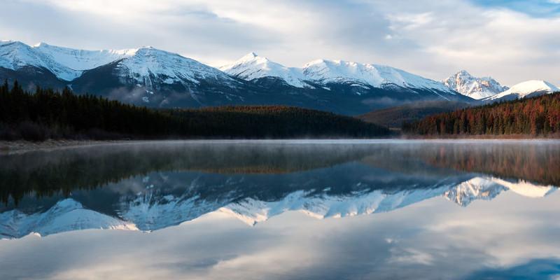 Озеро Патрисия, Канада  Северная Америка, путешествие, фотография