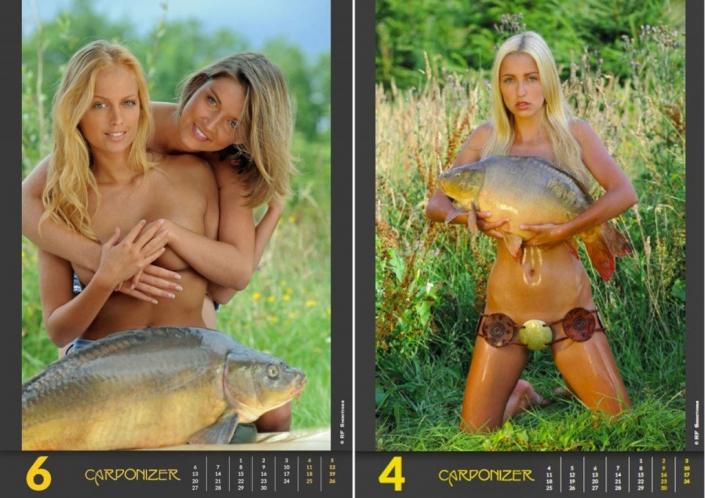 голая модель для календаря фото