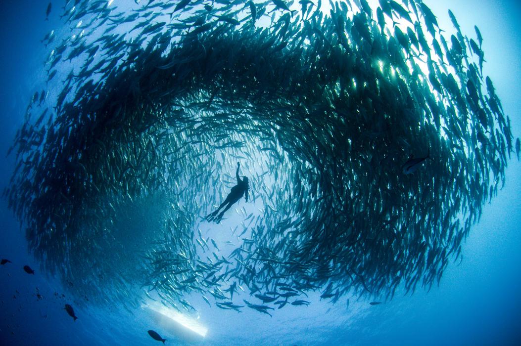 Подводное торнадо