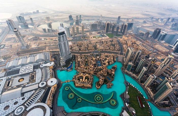 Головокружительные снимки Дубая от российского фотографа Вадима Махорова.
