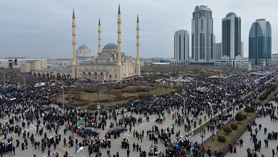 Столица Чечни получит 270 млн рублей для празднования дня города