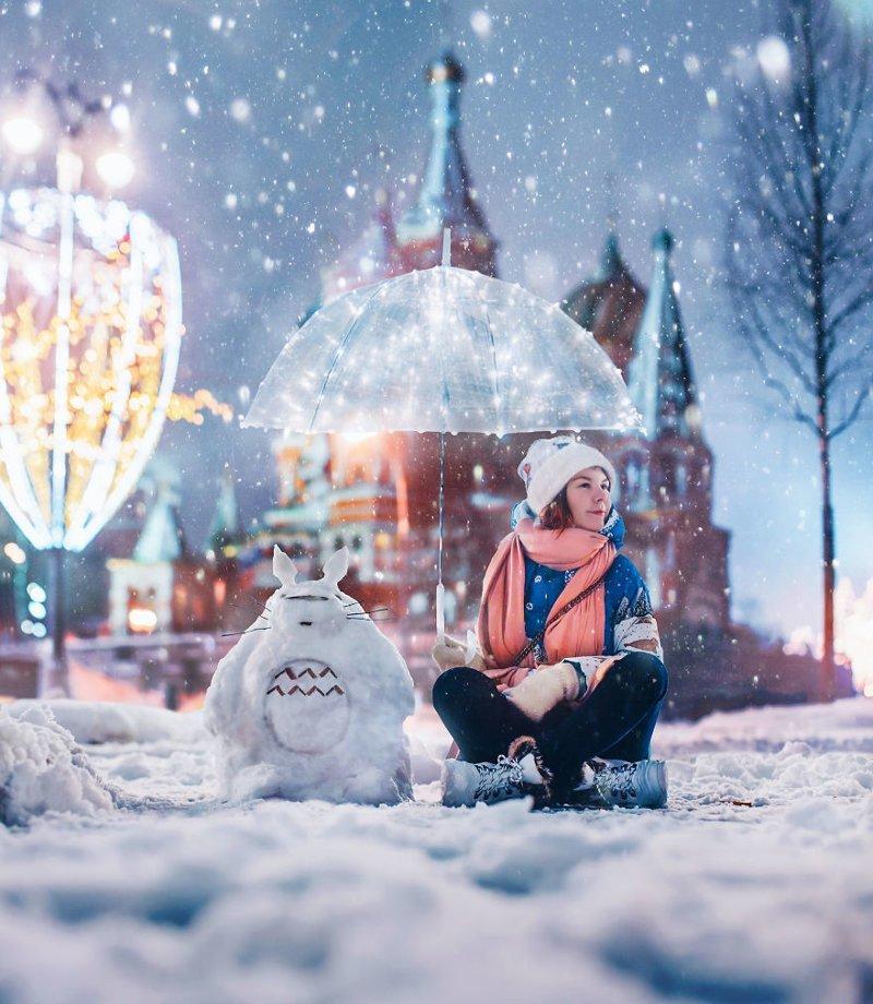 4. достопримечательность, зима, кристина макеева, москва, сказка, снег, фотография, фотомир