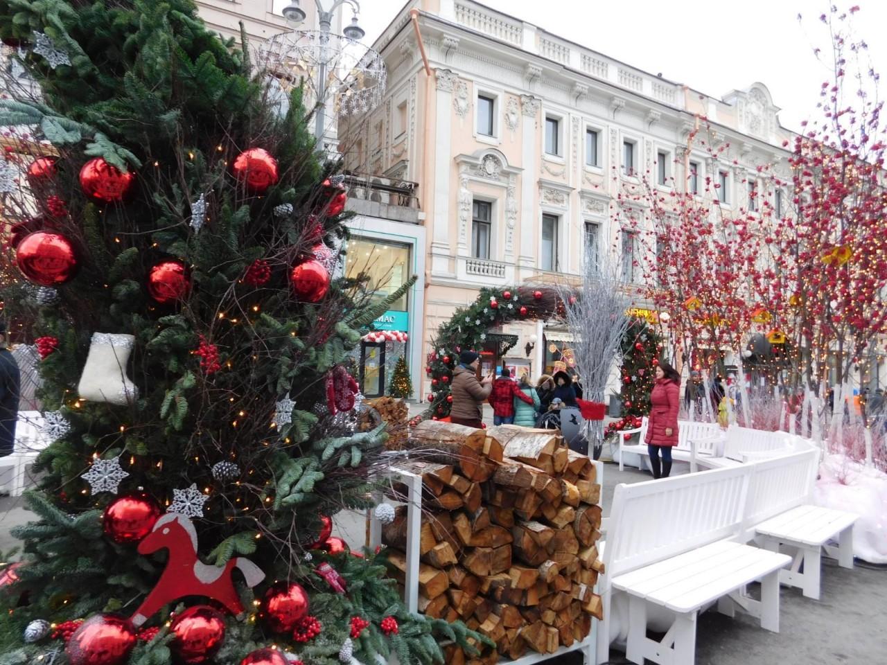 Москва Первоянварская - прогулка по Тверской