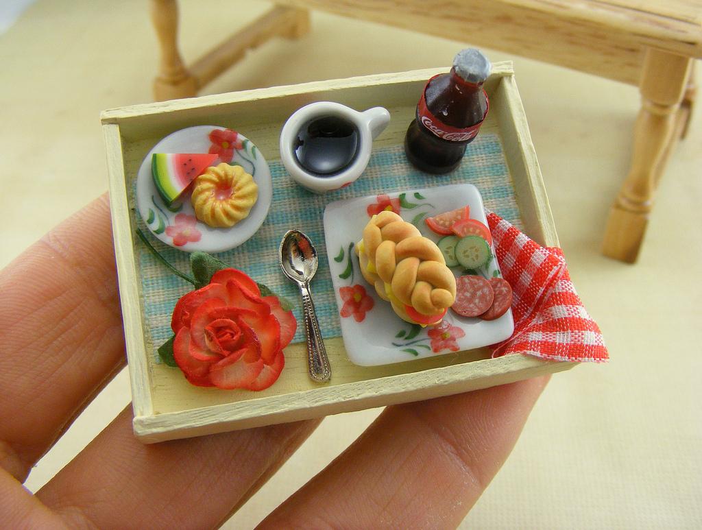 Как сделать миниатюру из полимерной