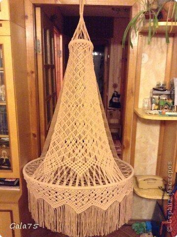 Кресло-гамак своими руками макраме схема