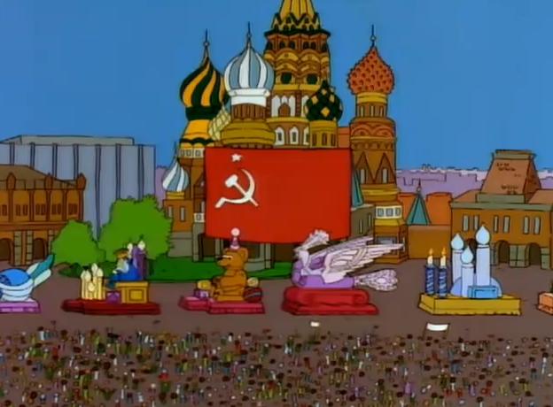 9-й сезон, 19-я серия «Симпсон на флоте» (Simpson Tide, 1998)