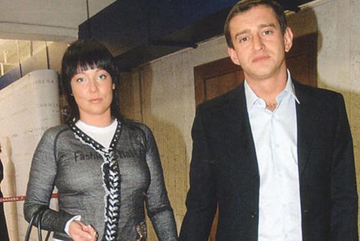 Константин Хабенский с женой Анастасией. / Фото: www.allstars.pp.ru