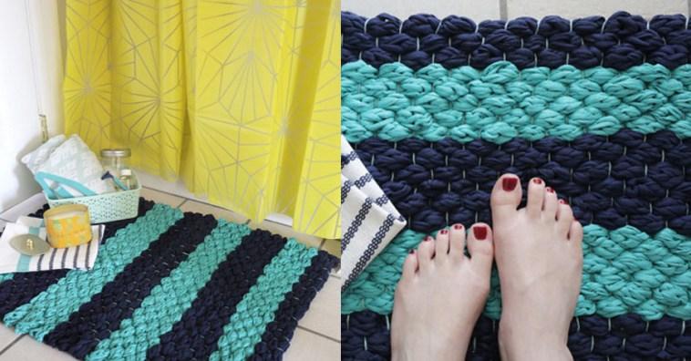 Как сделать коврик своими руками для ванны