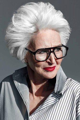 Подберите, что вам по душе - 25 вариантов стрижки пикси для дам старше 50