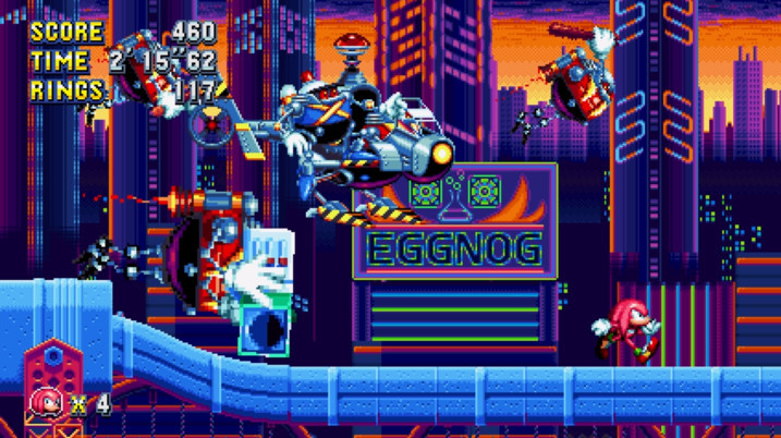 SEGA представляет новую главу и нового босса долгожданной игры Sonic Mania