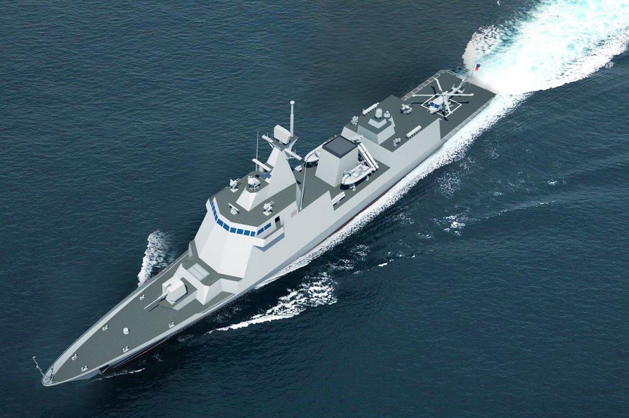 Филиппины заказали два фрегата в Южной Корее