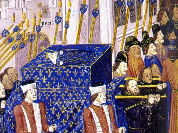 Иоанн I - король Франции с 15 ноября 1316 по 20 ноября 1316 гг. | Фото: fb.ru.