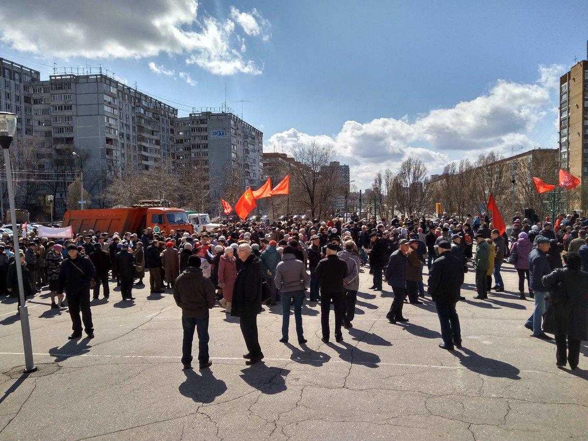 Митинги уже депутаты организовывают