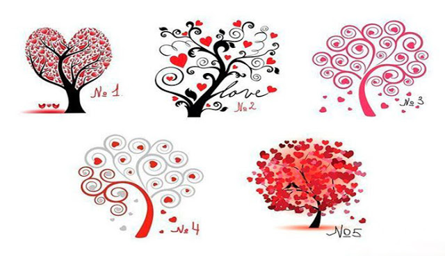 Тест – дерево любви