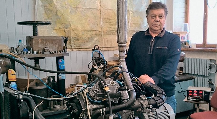 Двигатель энергореволюции! Изобретатель из Тольятти создал ДВС с механическим КПД 95%