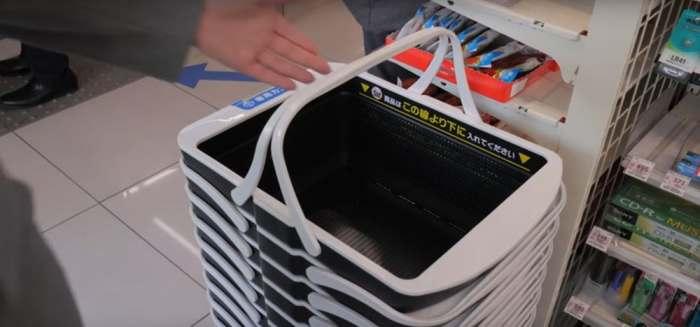Японцы создали «умную» корзинку, которая уволит всех магазинных кассиров