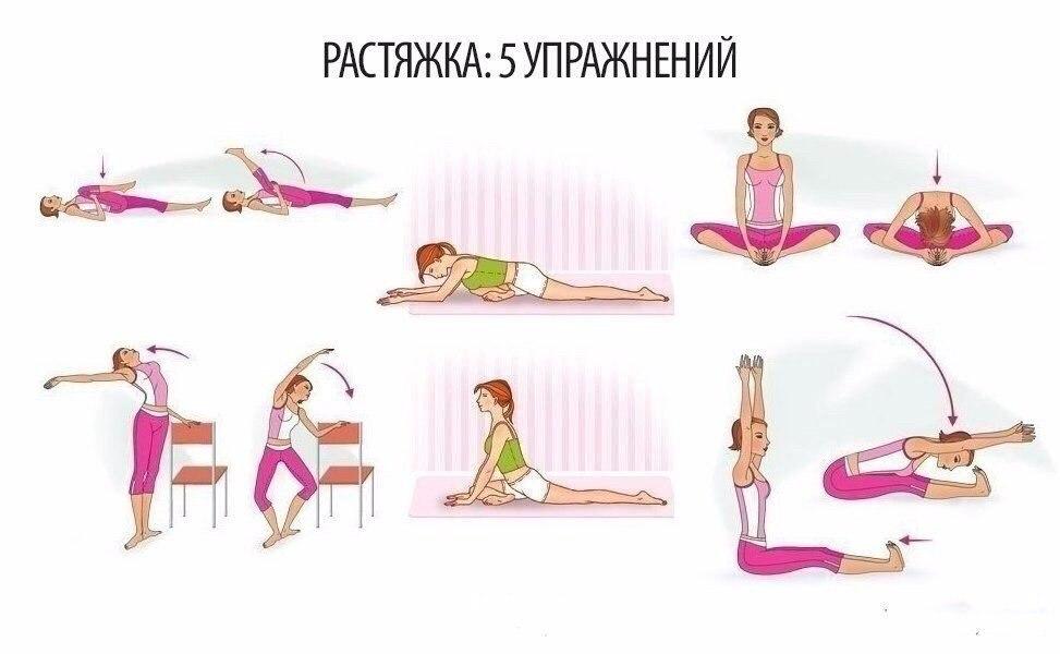 5 Упражнений, отлично растяг…