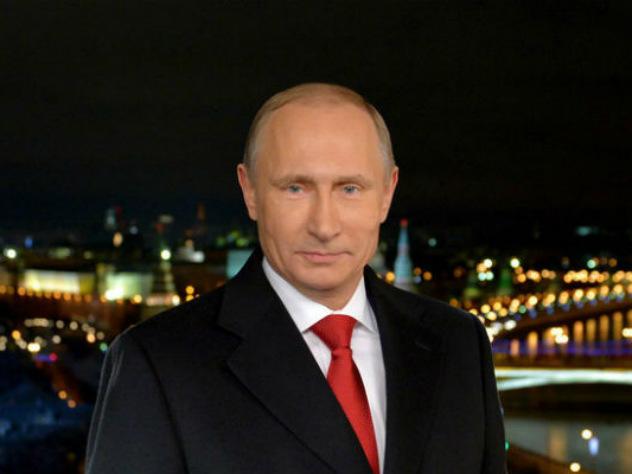Путин в новогоднем обращении не сказал ни слова про уходящий 2017-й