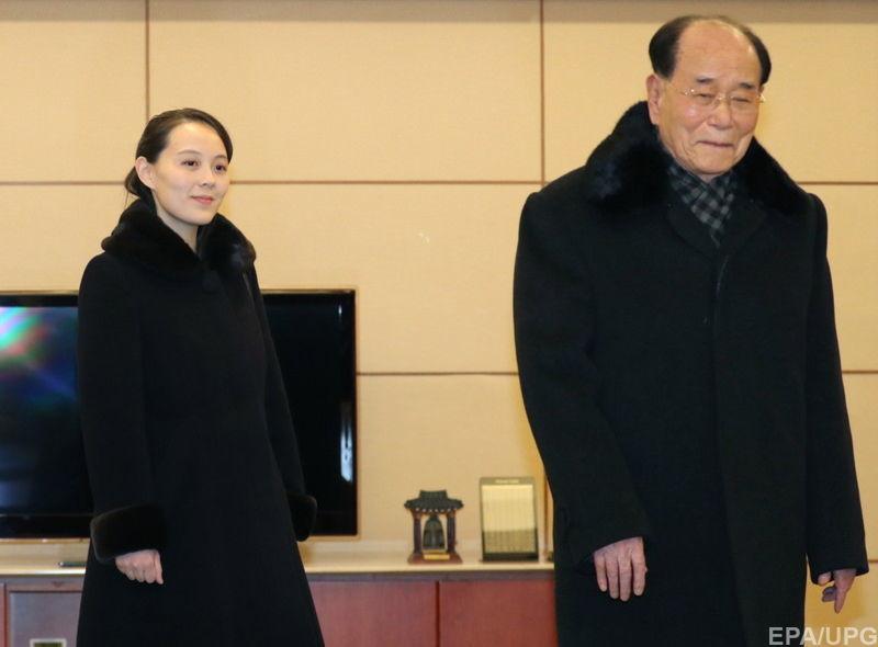 Сестра Ким Чен Ына пригласил…