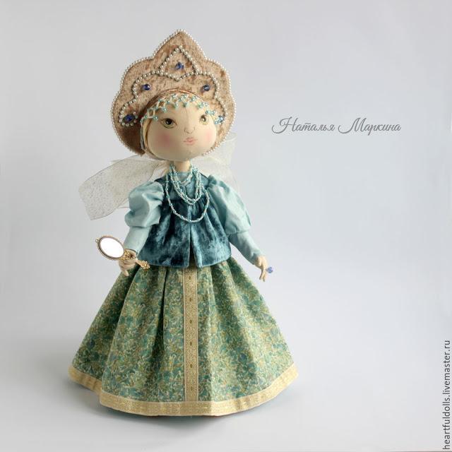 Шьем текстильную куклу Алену…
