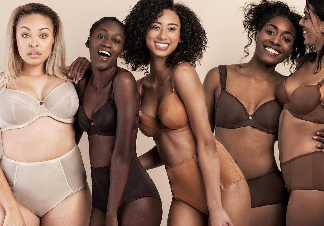 Темнокожая экс-медсестра запустила свою линию белья «телесного» цвета для разных оттенков кожи