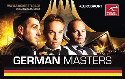 German Masters 2018. 1/8 финала