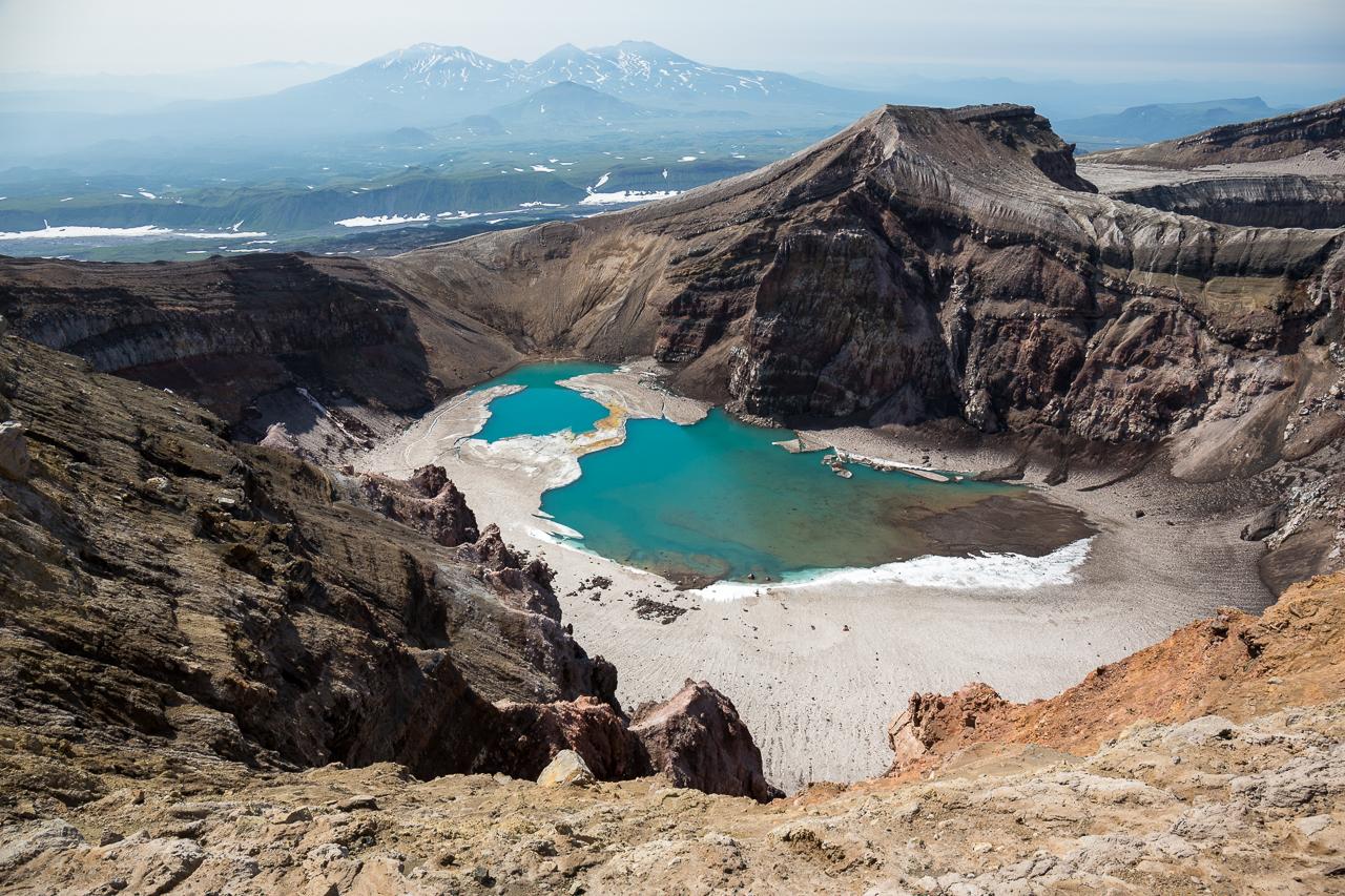 Большое путешествие  по  Камчатке к  вулканам  Мутновский и Горелый
