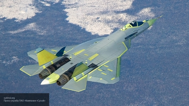 Новейший истребитель Су-57 совершил первый полет - СМИ