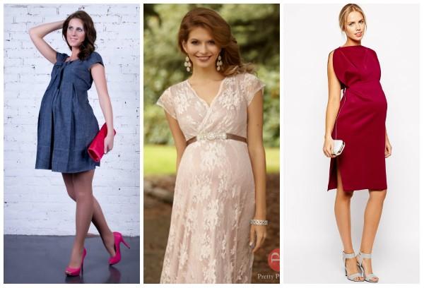 Кроткие платья для беременных для смелых женщин